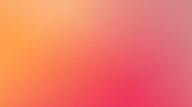 Pink, Yellow and Orange Colors Background stock photo