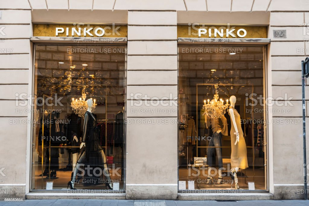 size 40 09b19 67fa7 Pinko Shop In Rome Italy Stock Photo & More Pictures of Arts ...