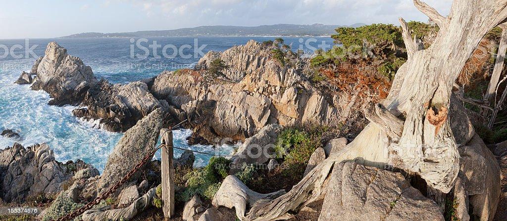 Pinnacle Cove Panorama royalty-free stock photo