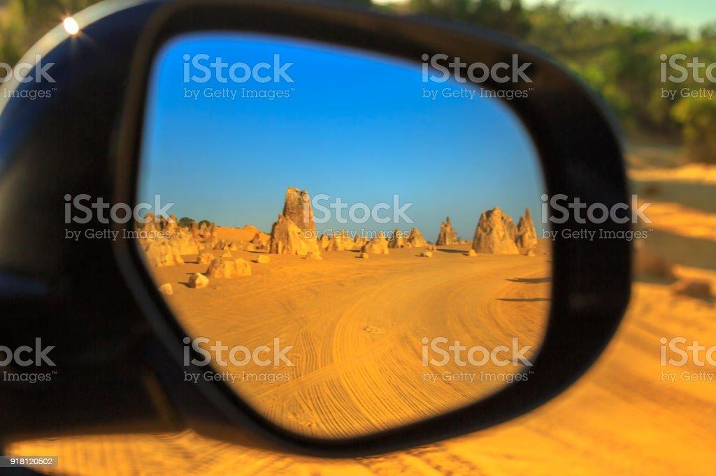 4WD Pinnacle desert stock photo