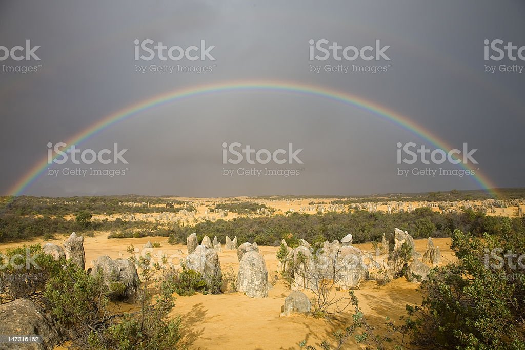 Pinnacle Rainbow royalty-free stock photo