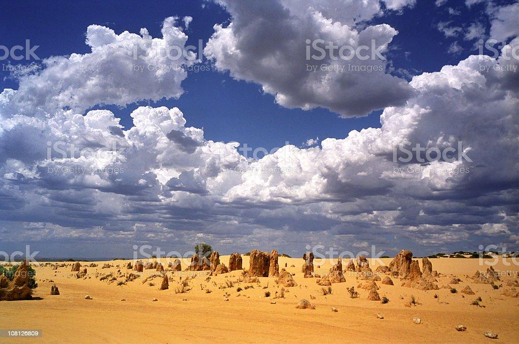 Pinnacles Australia Nambung National Park royalty-free stock photo