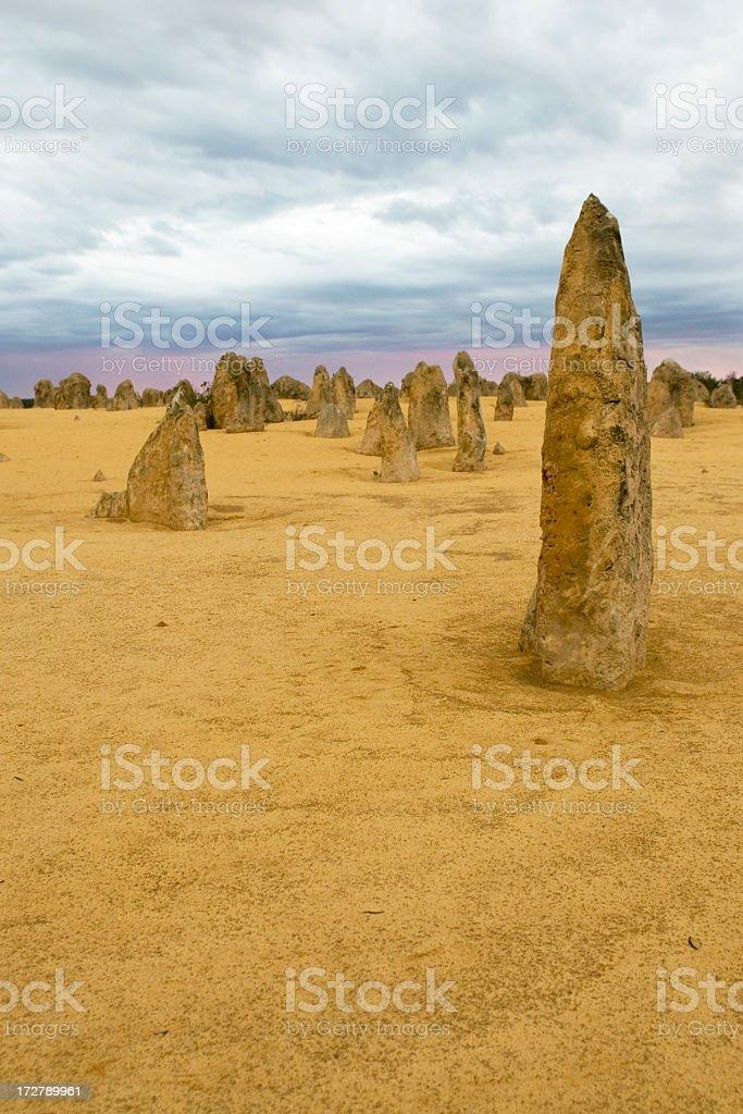 Pinnacles Desert National Park royalty-free stock photo