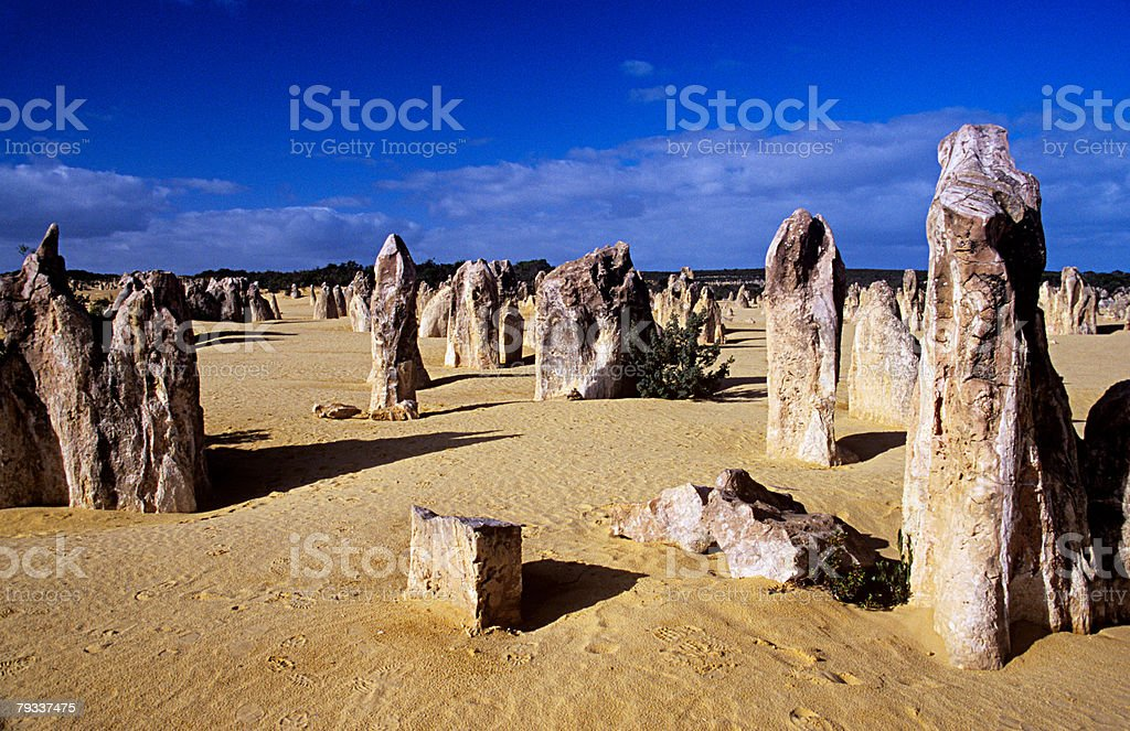 Pinnacles in australia royalty-free 스톡 사진