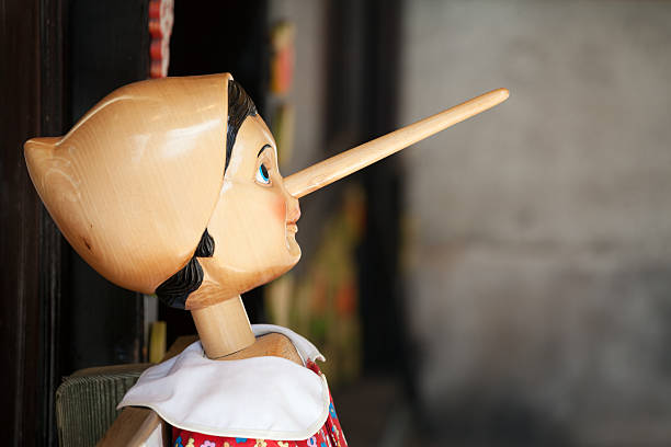 Pinnochio Close up photo of Pinnochio pinocchio stock pictures, royalty-free photos & images