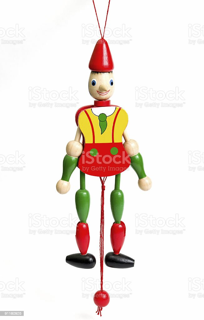 Pinnochio royalty-free stock photo