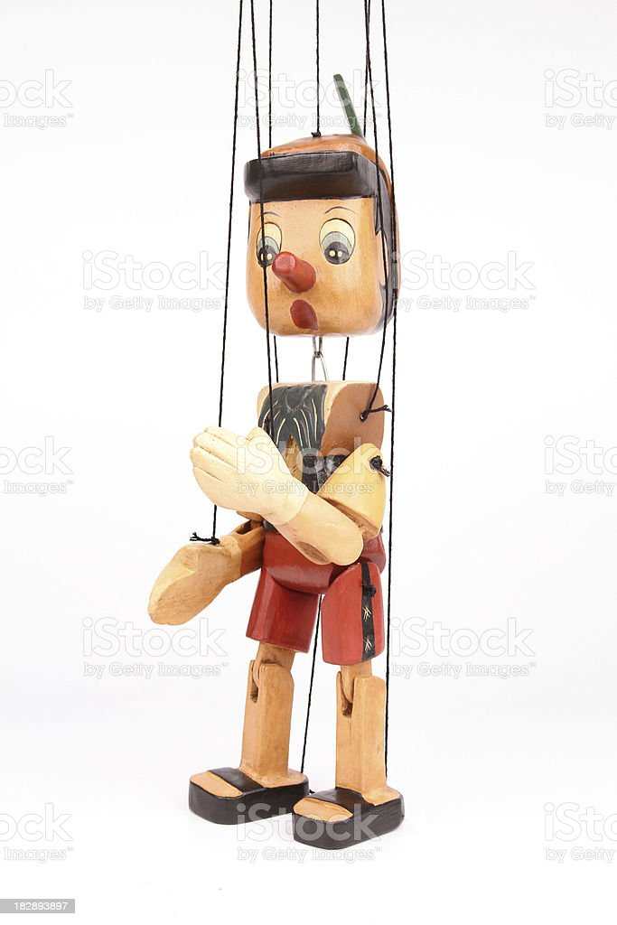 Pinocchio stock photo