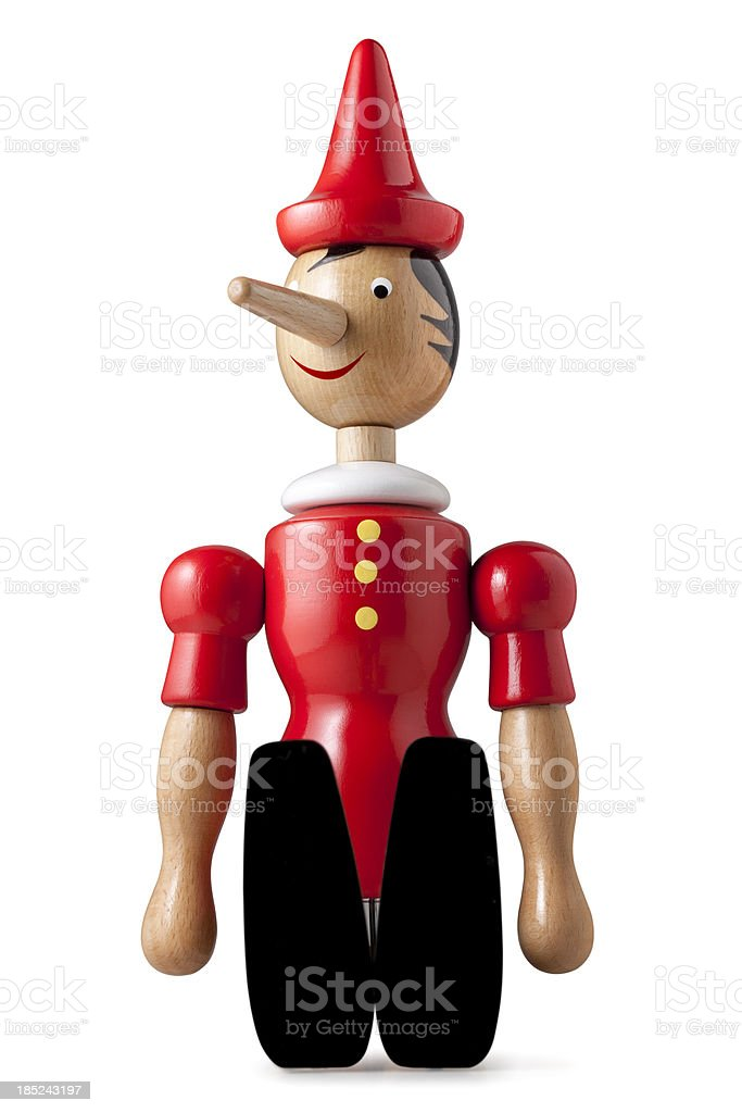 Pinocchio. royalty-free stock photo