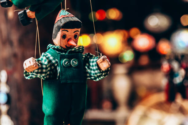 Pinocchio Puppet Pinocchio puppet. puppet stock pictures, royalty-free photos & images