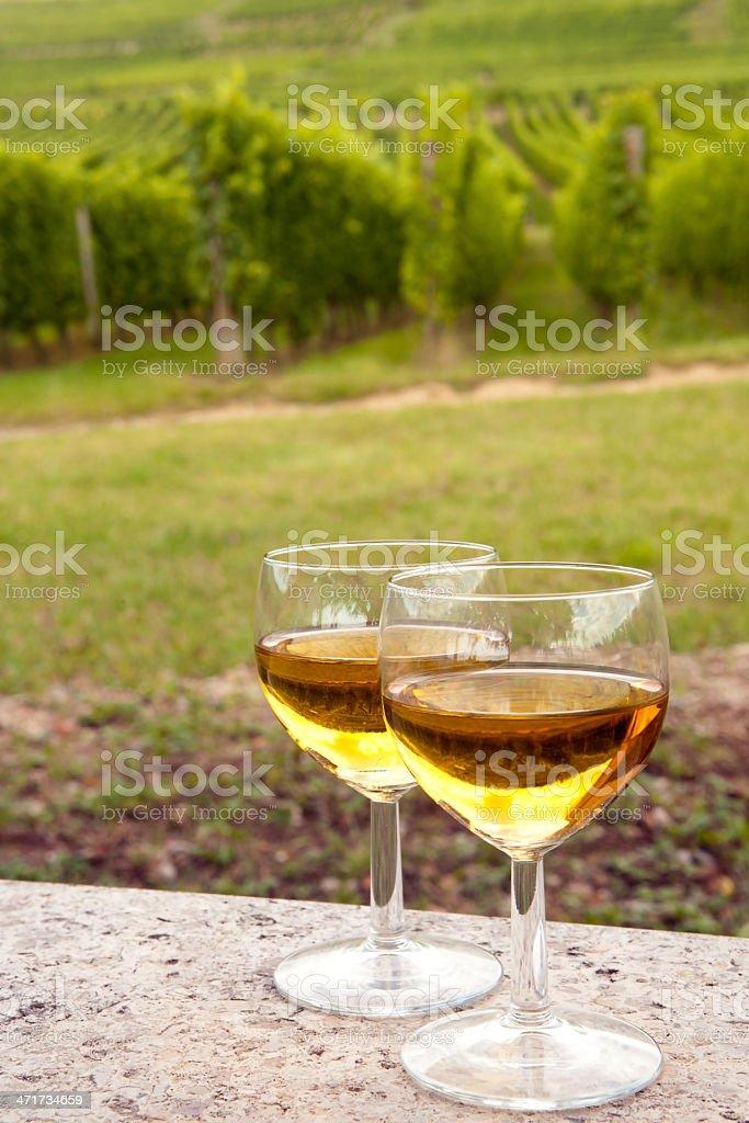 Pinot Alsazia vino - foto stock
