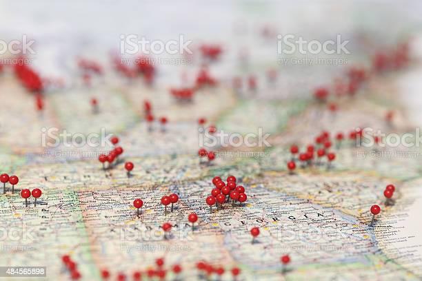 Pins in map for locations near georgia picture id484565898?b=1&k=6&m=484565898&s=612x612&h=nhdvk932mfu8szpld1srjzozaw1aydqpopjo9fsgsmm=