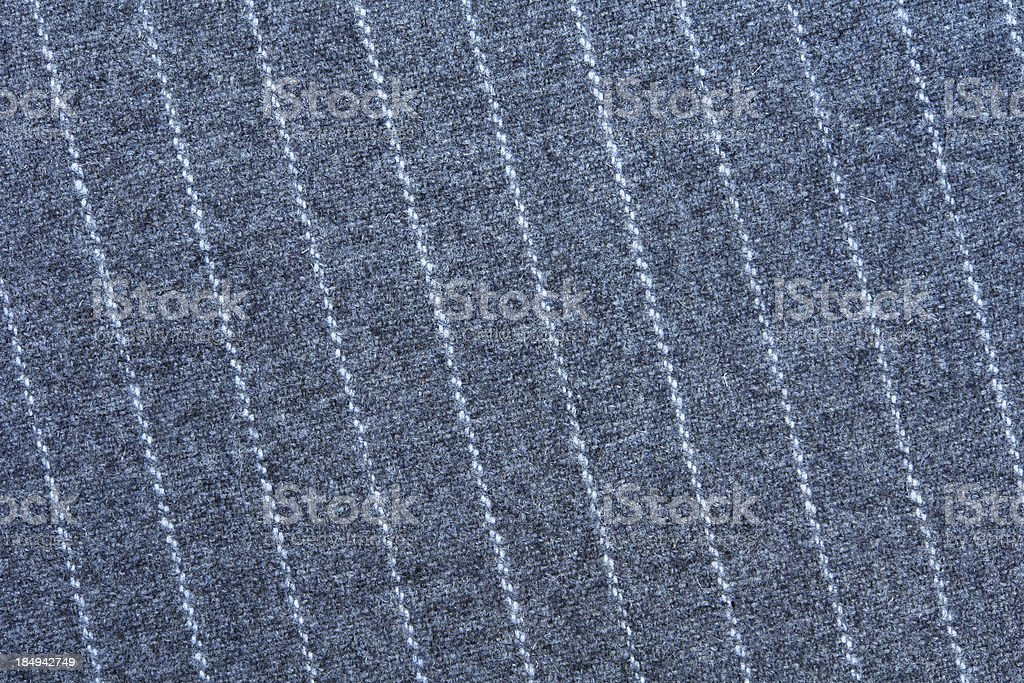 Pinstripe suit closeup stock photo