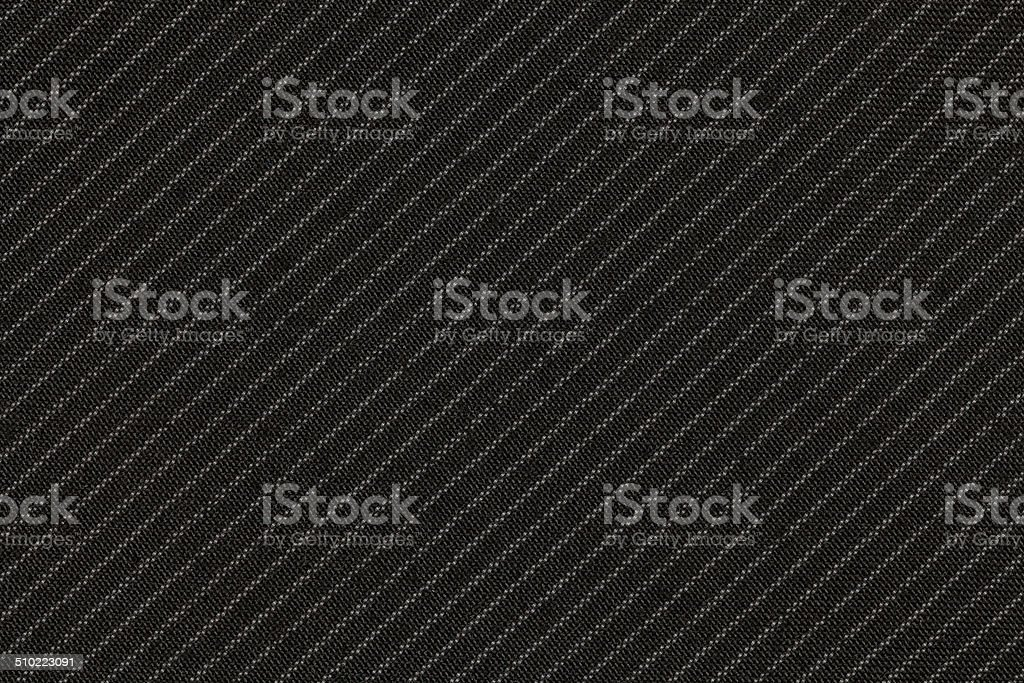 Pinstripe suit fabric stock photo