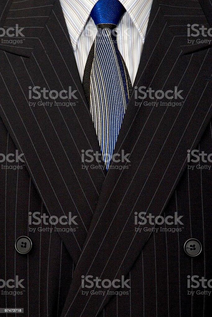 Pinstripe Suit royalty-free stock photo