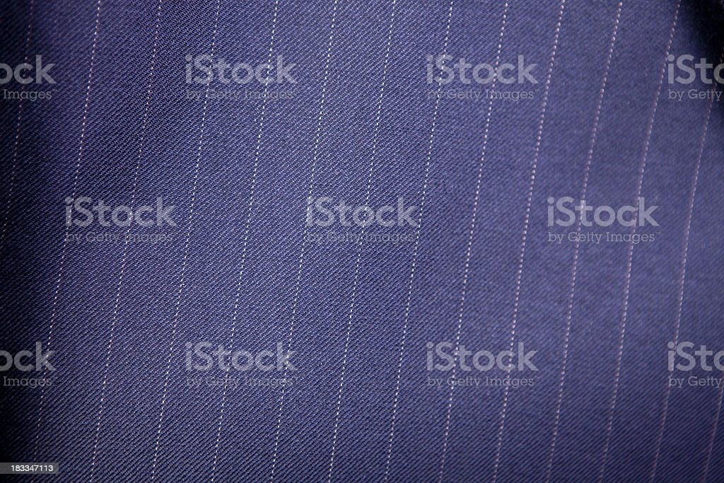 Pinstripe suit texture stock photo