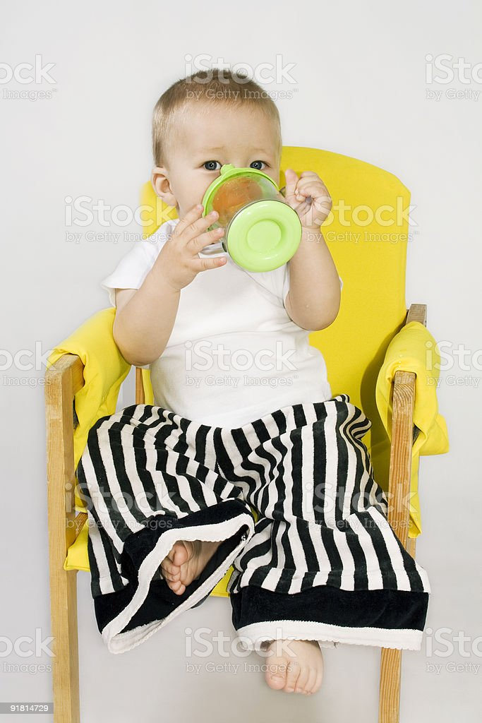 Pint baby royalty-free stock photo