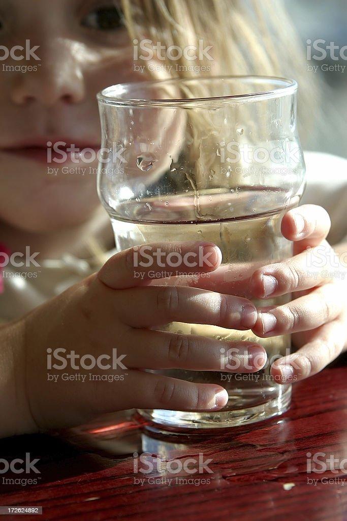 Pint girl royalty-free stock photo