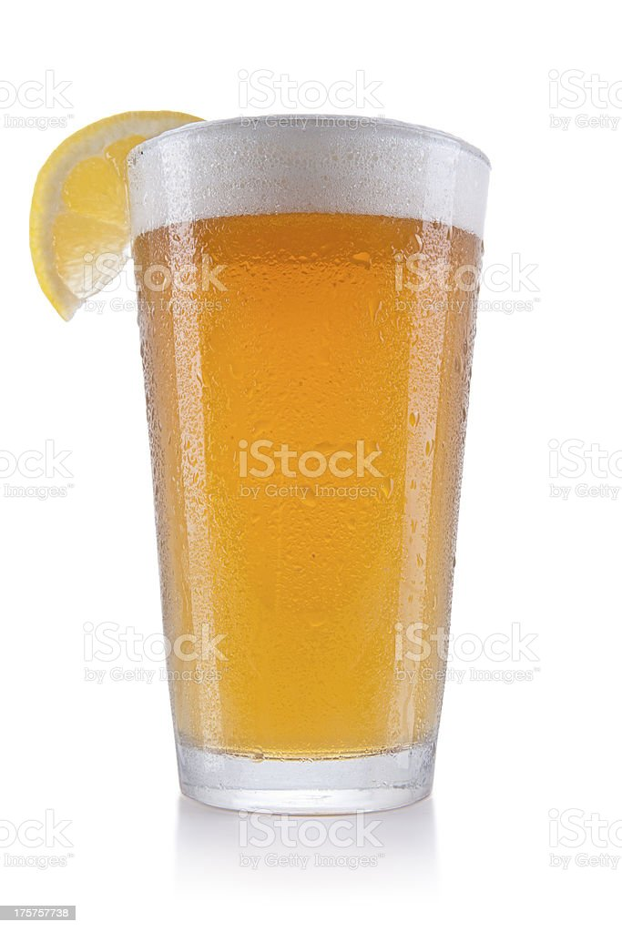 Pint of Wheat Beer royalty-free stock photo
