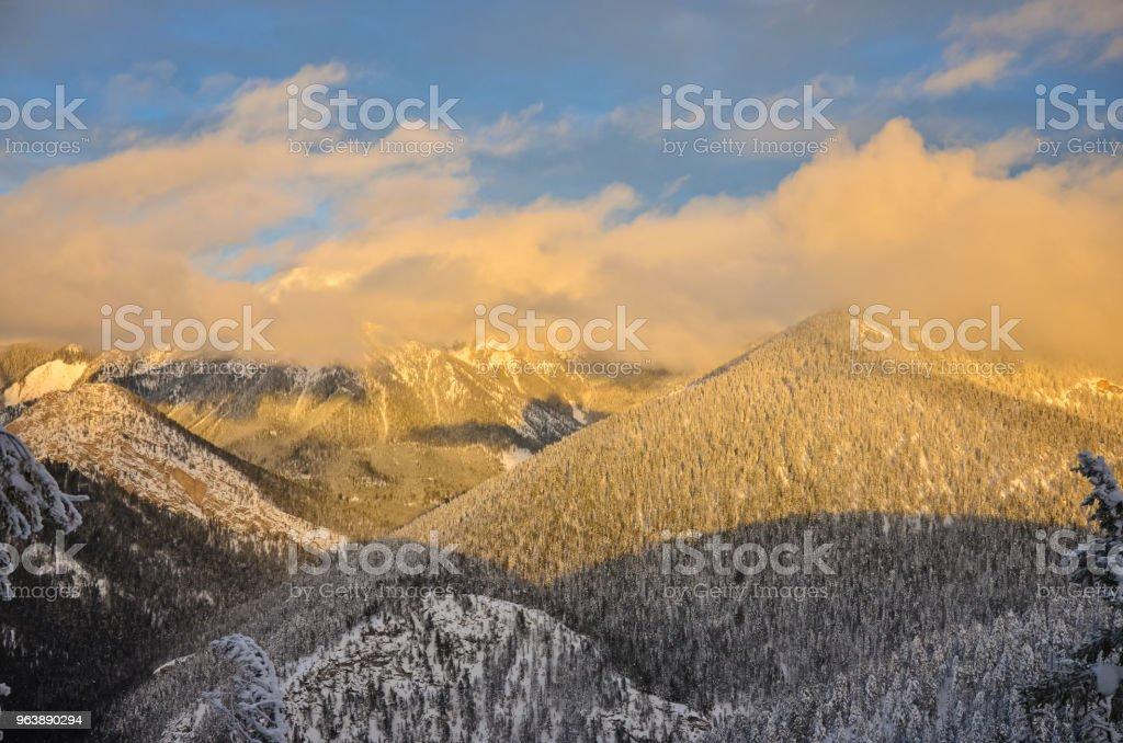 Pinto Rocky Mountains British Columbia Canada - Royalty-free British Columbia Stock Photo