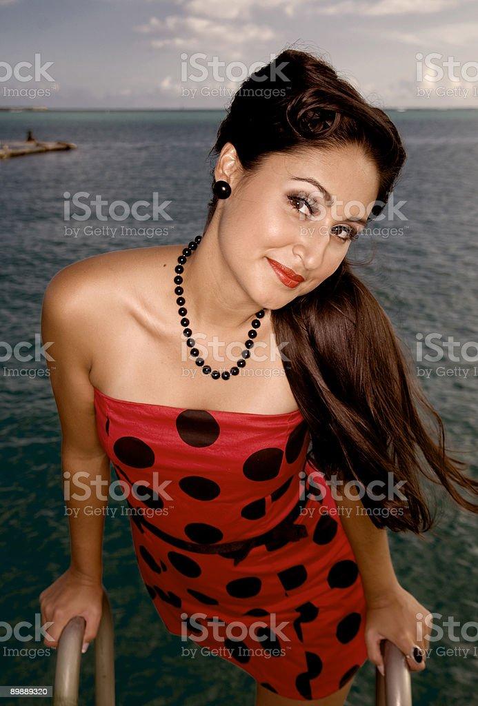 Contactos de belleza foto de stock libre de derechos