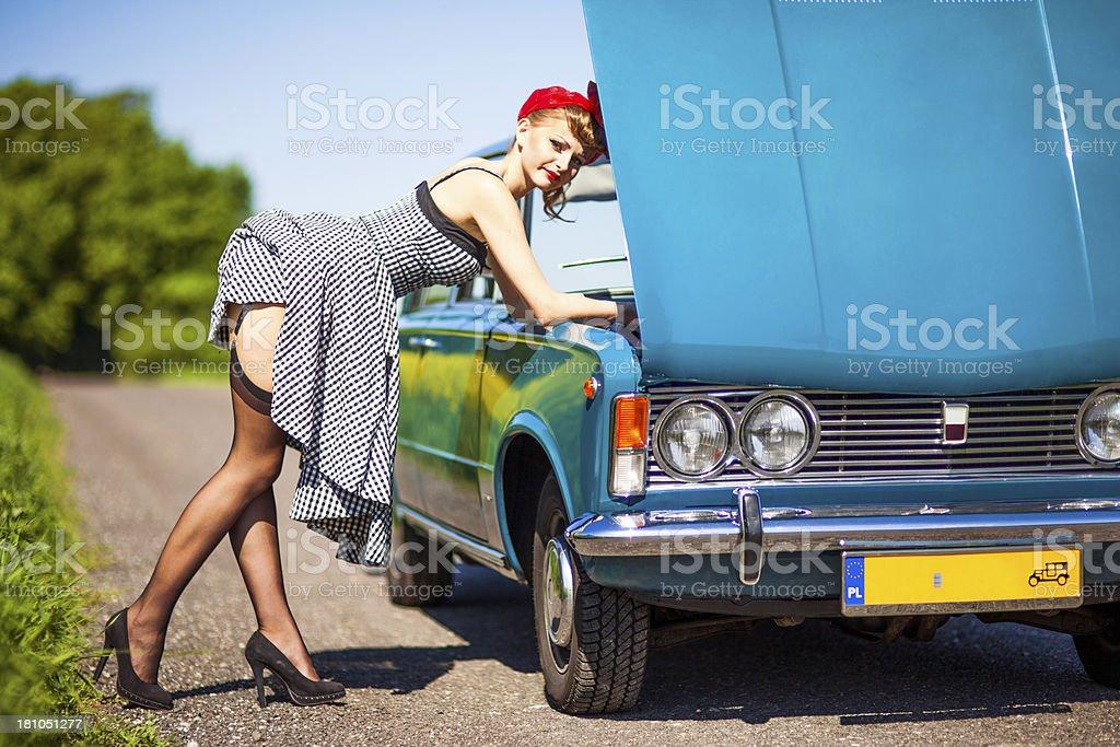 pin up car