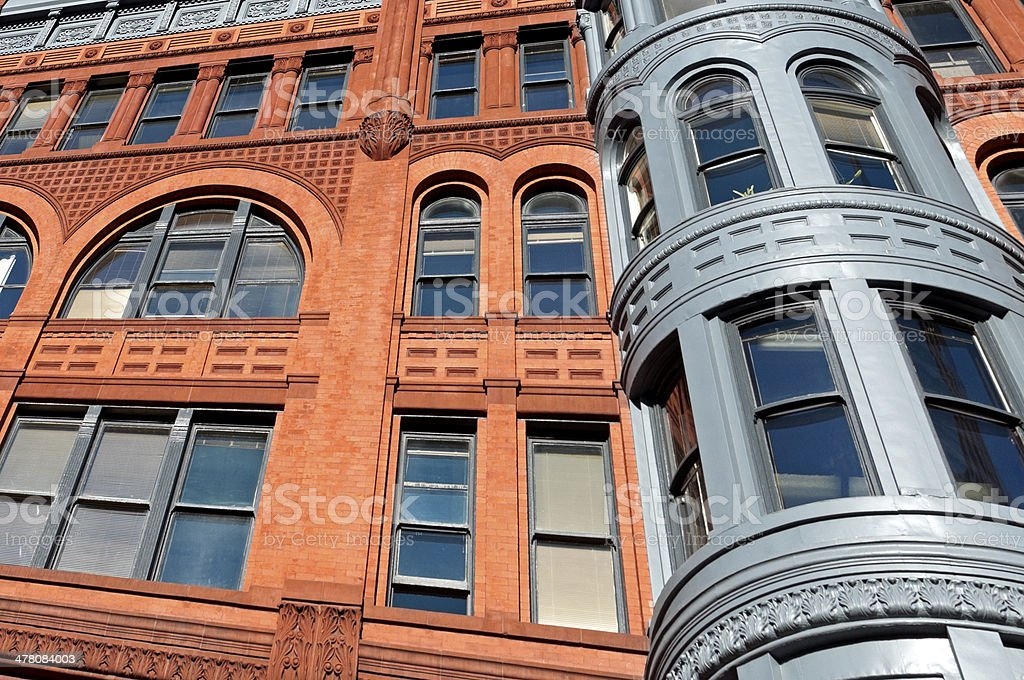 Pioneer Building in Seattle is a national historic landmark royalty-free stock photo