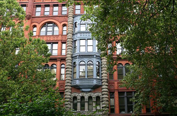 Pioneer Building in Seattle stock photo