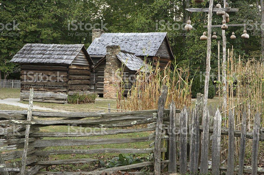 Pioneer Farm royalty-free stock photo