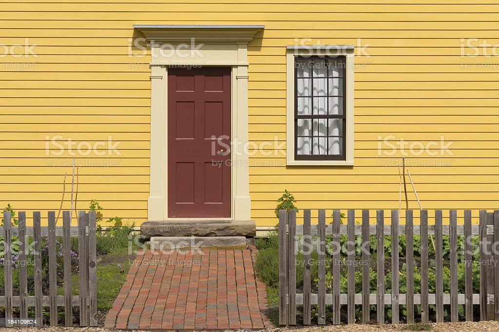 Pioneer Home Exterior royalty-free stock photo