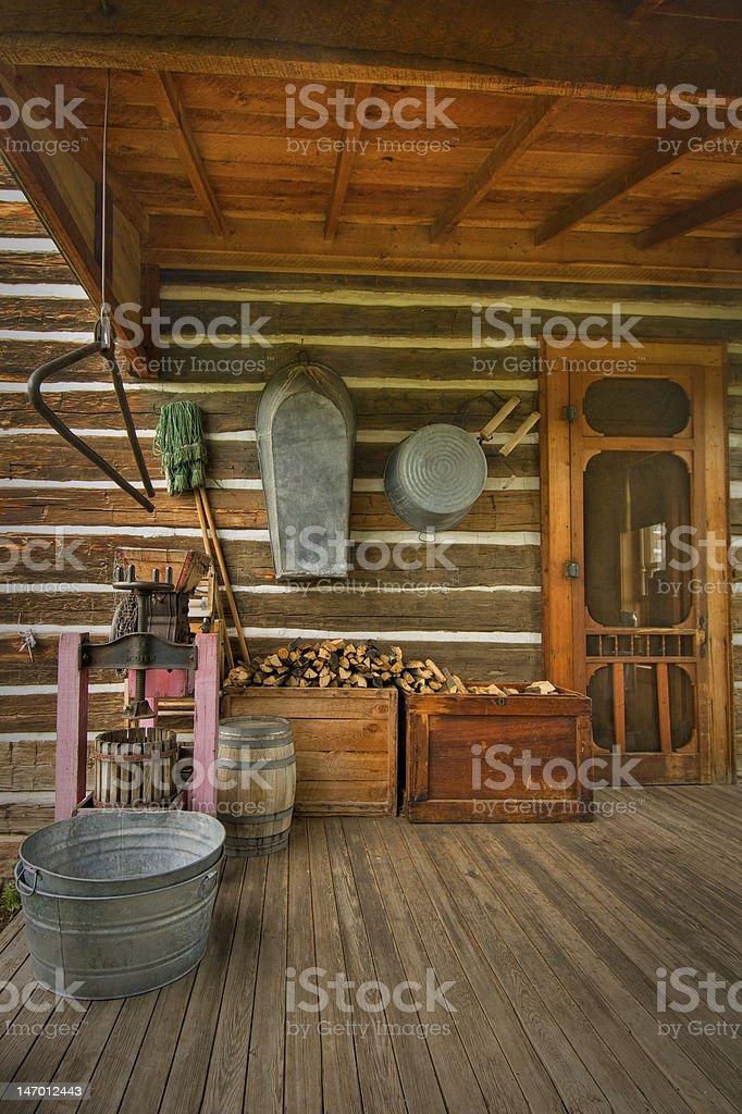 Pioneer Porche photo libre de droits