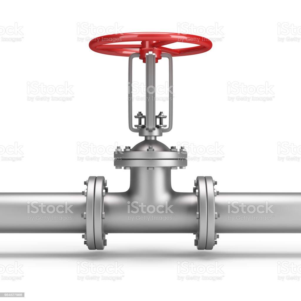 pipe and valve стоковое фото
