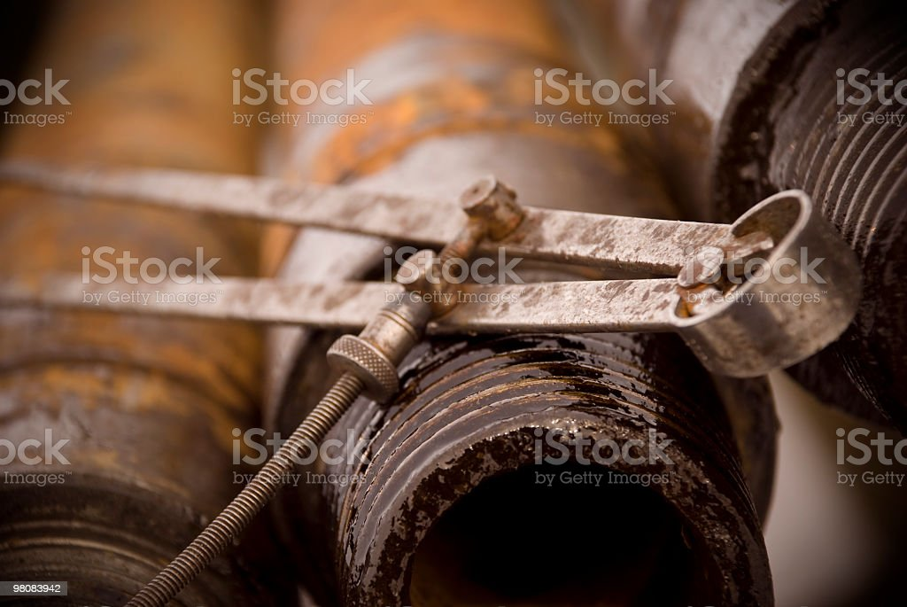 Pipe Caliper royalty-free stock photo