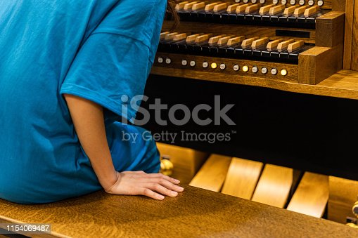 Pipe organ Close-up
