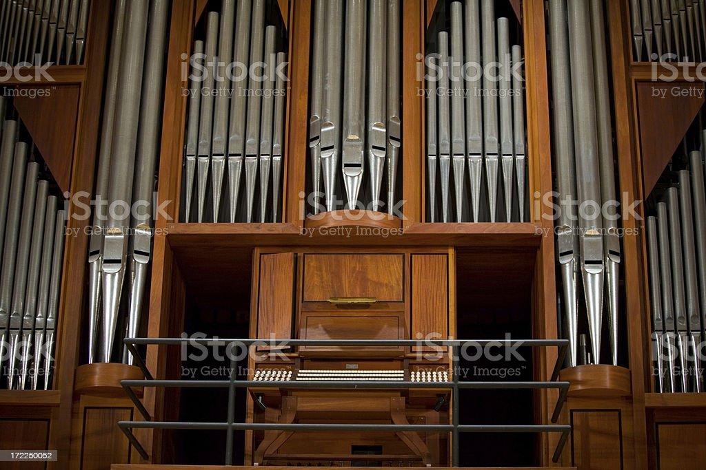 Pipe Organ royalty-free stock photo