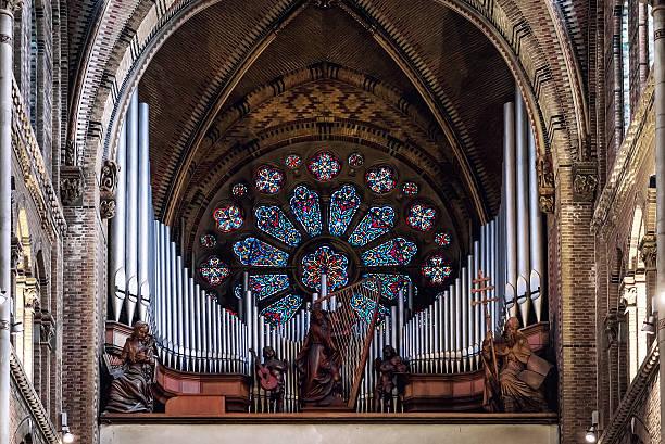 pipe organ - eindhoven stockfoto's en -beelden