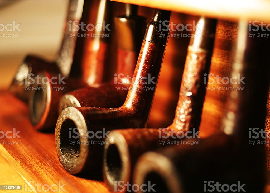 pipe rack royalty-free stock photo