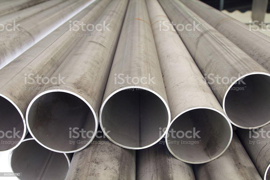 Textura de tuberías - foto de stock