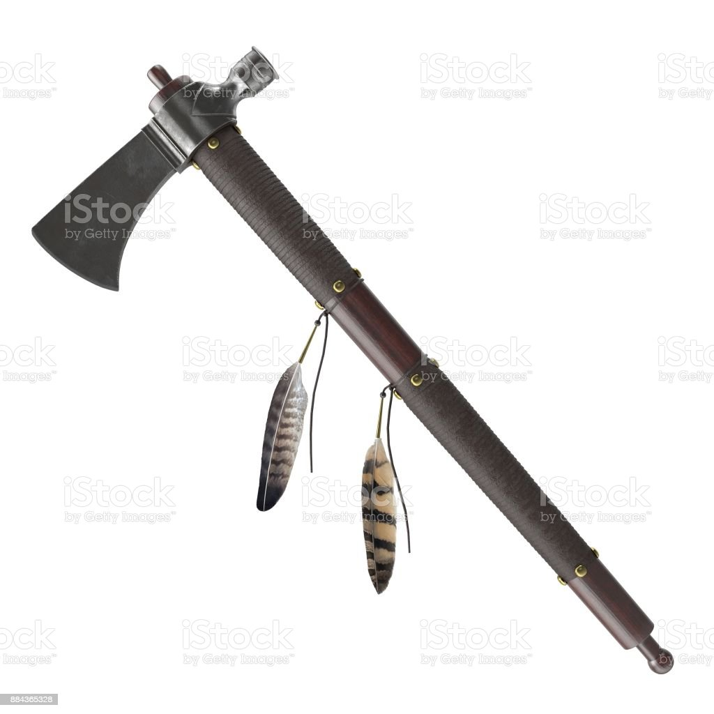 Pipe Tomahawk stock photo