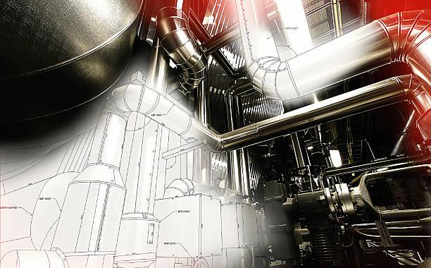 pipeline cad design-Konzept – Foto