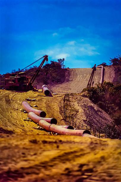 Pipeline-Konstruktion – Foto