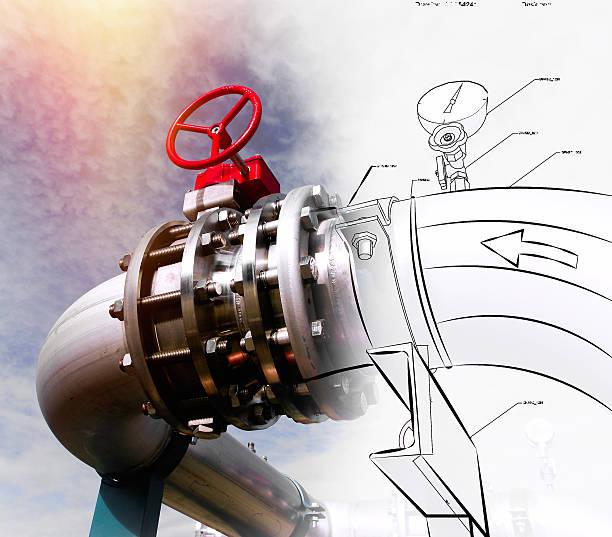 pipeline design-Konzept – Foto