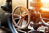 Pipeline indoors oil refining