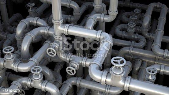 istock Pipeline maze 453194079