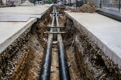 Pipeline Stockfoto und mehr Bilder von Abwasser