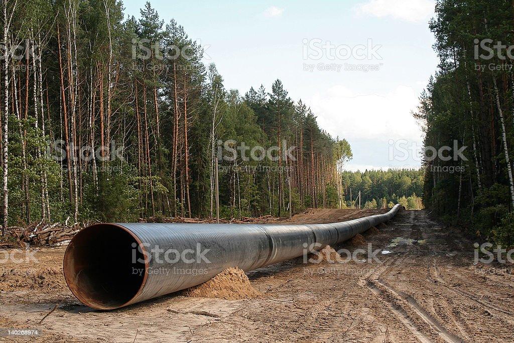 pipeline royalty-free stock photo