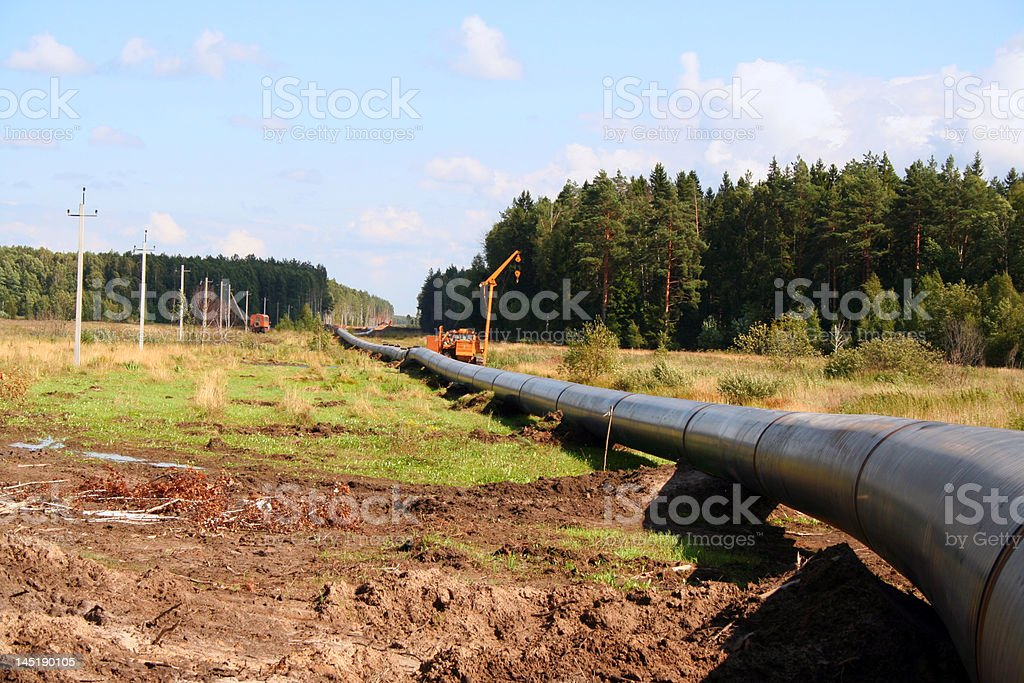 pipeline royalty-free stock photo