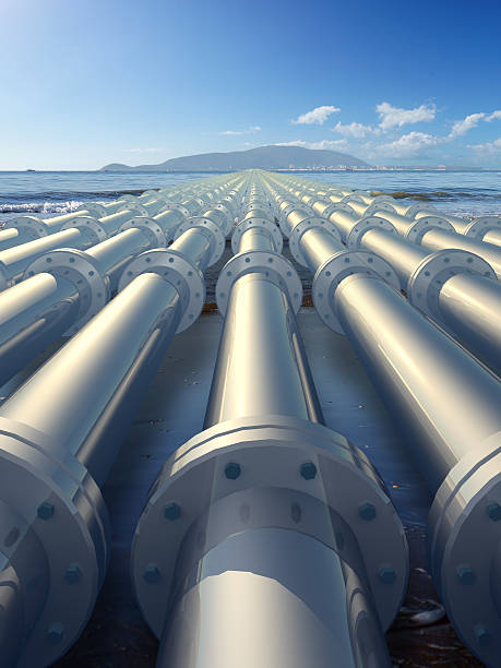 pipeline - foto stock