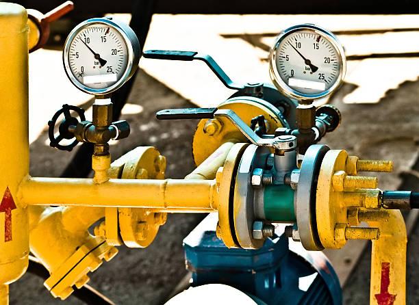 pipeline - luftventil stock-fotos und bilder
