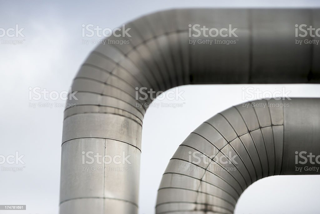 Pipelines royalty-free stock photo