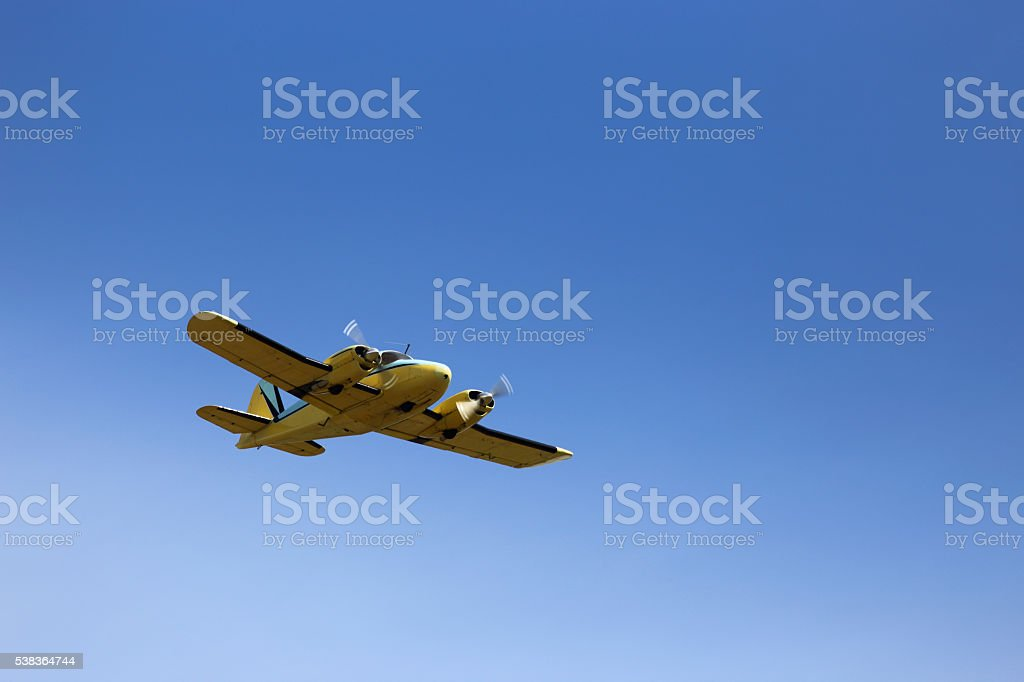 Piper Apache stock photo